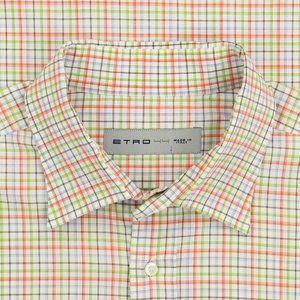 Etro Long Sleeve Button Up Shirt Size 44